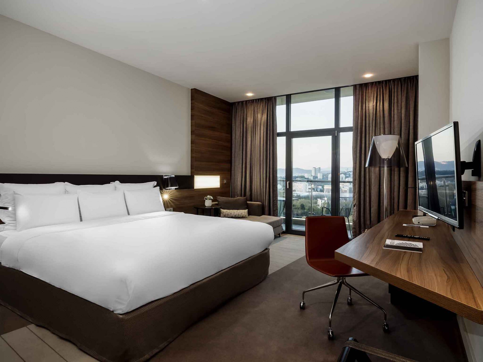 Superior with double bed (city view) - Отель «Pullman Sochi Centre»